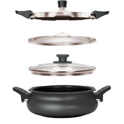Pigeon 3 In 1 Hard Anodized Super Cooker 5 Litres (Pigeon Induction compare prices)
