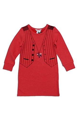 Little Marc Jacobs Necklace Dress -2 -Coral