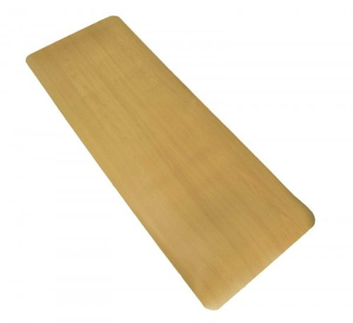 Anti Fatigue Floor Mat - 18x30 - Maple Finish (Maple Wood) (.50