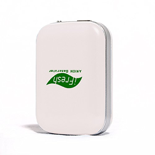 Onairmall® Ifresh Olf-689 The Second Generation Hq Portable Mini Pendant-Ion And Ozone Generator Air Purifier Air Freshener - White