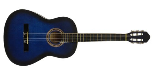 NEW 40″ BLUE BURST Classical Acoustic Guitar PRO MODEL