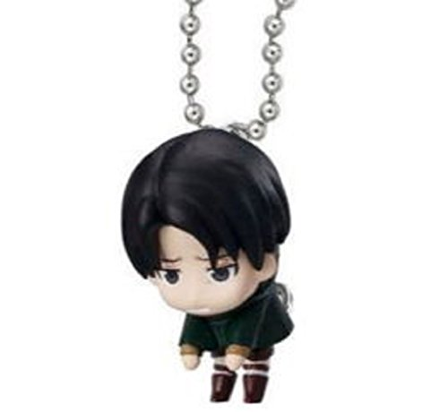 Attack on Titan Tsumande Tsunagete Mascot Part 2~Figure Swing Keychain~Levi Ackerman