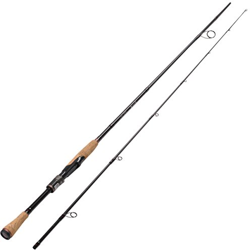 Fiblink graphite spinning fishing rod 7 39 portable spinning for Fishing rod ultra sun