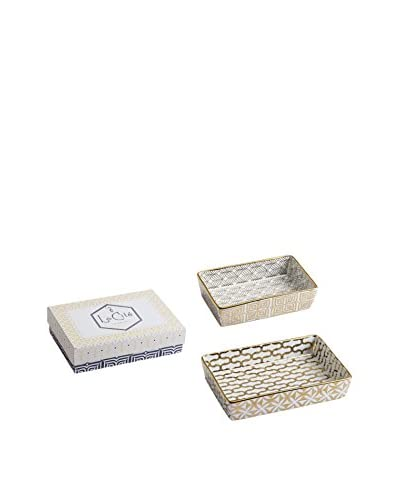 Rosanna Set of 2 La Cite Nesting Catchall Trays