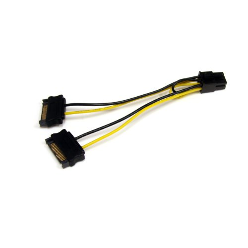Startech.Com 6-Inch Sata Power to 6 Pin PCi Express Video Card Power Cable Adapter SATPCIEXADAP