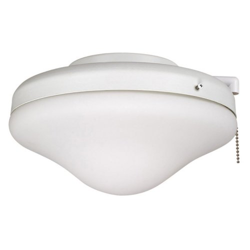Ellington ELK113-1MWW-W All-Weather Dome Outdoor Ceiling Fan Light Kit - White