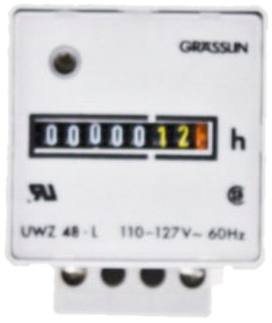 Intermatic Uwz48A-120U Screw Terminals With Terminal Cover, 120V, 60Hz Ac Hour Meters Surface Mount