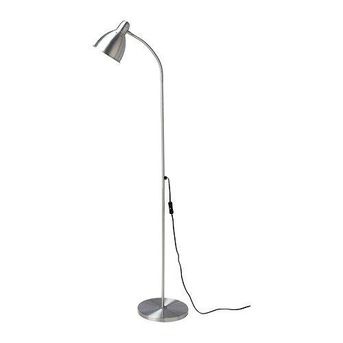 Ikea 201.109.03 Lersta Floor/Reading Lamp, Aluminum picture