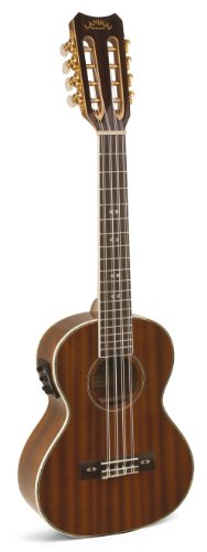 Lanikai Lu-8Ek 26.2-Inch 8-String Tenor Acoustic Electric Ukulele