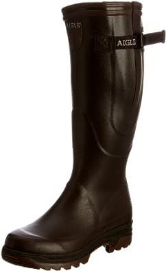 Aigle Unisex-Adult Parcours Vario Brun Wellington Boot 85045 11 UK, 46 EU