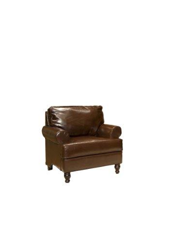 Elements Braxton Bi Cast Leather Club Chair
