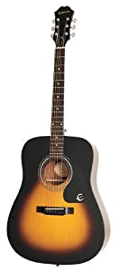Epiphone DR 100 Acoustic Guitar, Vintage Sunburst available at Amazon for Rs.9160