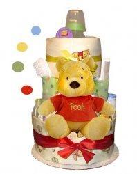 Winnie The Pooh 3-Tier Diaper Cake