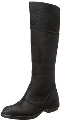 Vera Wang Lavender Women's Verlaine Western Boot,Black,7 M US