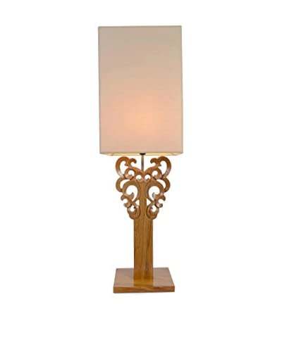 Jeffan Carey Table Lamp, Brown