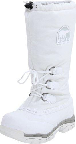 Sorel Women's Snowlion NL1082 Boot,White,8 M