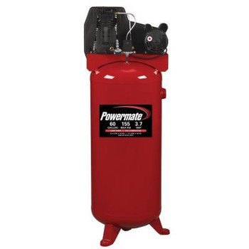Best Review Of PowerMate Vx PLA3706056 60-Gallon Single Stage Vertical Cast Iron Air Compressor