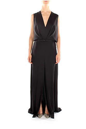 13D238A05381258001-Salvatore-Ferragamo-Robes-Femme-Soie-Noir