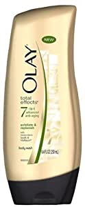 Olay Total Effects Advanced Anti-Aging Exfoliate and Replenish Body Wash, 8.4 oz