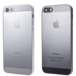 < iPhone5 iPhone5s 対応> Helium Super Thin TPU Case 史上最薄0.5mm 黄ばみにくい 透明 HT104CL (Clear)