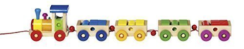 "Wooden Philadelhia Train 22.5"" by Goki - 1"