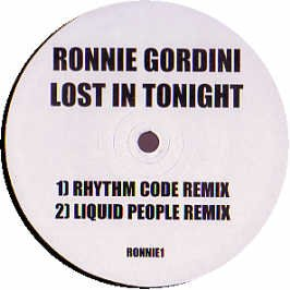 GORDINI, RONNIE - Lost In Tonight - Promo - Maxi 45T