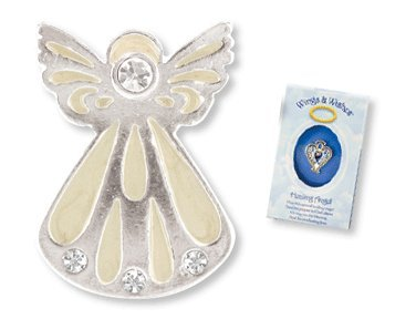 Guardian Angel Wings & Wishes Angel Tac Pin