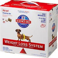 Hill's Science Diet Small Breed Weight Loss System Starter Kit Adult Dry Dog Food