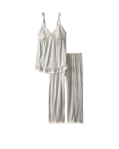 René Rofé Sleepwear Women's Call Me Lacey Capri Set