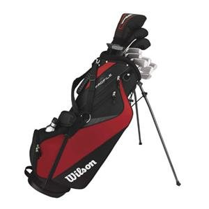 Left Handed Mens Golf Set with Bag