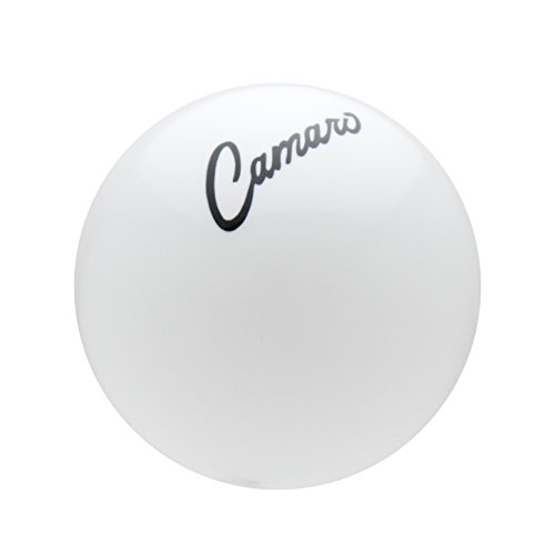 Speed Dawg (SK502CAMS68-GM-BK) GM Licensed Series '68-'69 Camaro Script White/ Black Shift Knob (Camaro Knob compare prices)