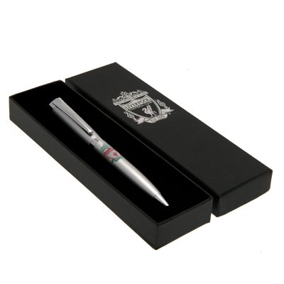 Official Liverpool FC Ballpoint Pen - A Great Christmas, Birthday, Valentine, Anniversary Gift For Husbands, Fathers, Sons, Boyfriends, Friends and Any Avid Liverpool Football Club Fan Supporter