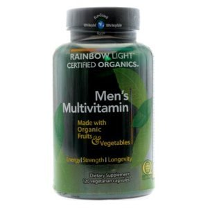 Rainbow Light Organic Men's Multivitamin