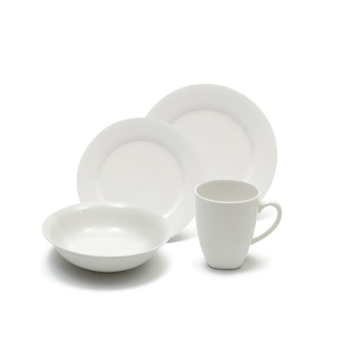 Maxwell and Williams Basics 16-Piece Soho Dinner Set, White by Maxwell & Williams