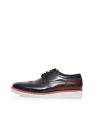 Isotti Zapatos de cordones Azul Marino / Marrón