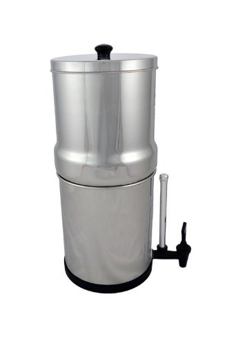 Big Berkey Water Filter-2 Black Berkey Filters and Water View Spigot (Big Berkey Sight Glass Spigot compare prices)