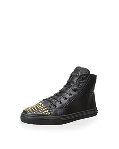 Gucci Women's Hightop Sneaker with Studs