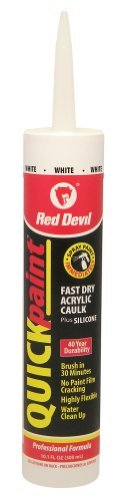 red-devil-0946-painters-acrylic-latex-caulk-101-ounce-cartridge-white-by-red-devil