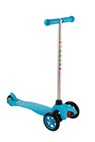 Cheetah 3 Wheel Wide Deck Kids Kick Scooter (Blue)