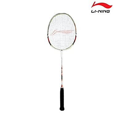 Li-Ning SS-88 III Super Carbon Fiber Badminton Racquet, Size S2 (Red/White)