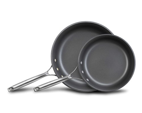 Calphalon Unison Nonstick Slide Surface Omelette Fry Pan, 10 and 12