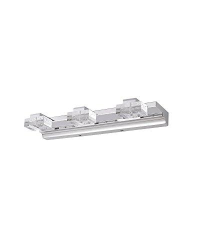Parrotuncle Modern Led Bathroom 3 Lights Vanity Light Bar Home Lighting