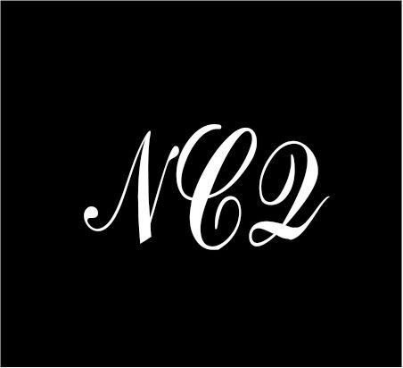 6-white-monogram-3-letters-ncq-initials-script-style-vinyl-decal-for-cup-car-computer-any-smooth-sur