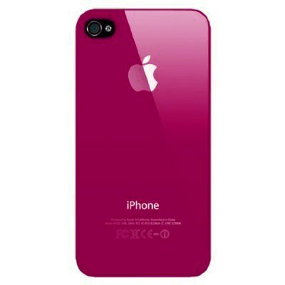 Rose Red Replicase Hard Crystal Air Jacket Case iPhone 4 4G 16GB 32GB (not for Verizon)