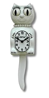 The Original Kit Cat Klock - White Lady Kit-Cat Clock