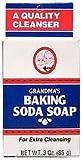 海外直送品Baking Soda Soap, 3.25 oz by Grandpa's Brands Company