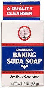 Baking Soda Soap Grandpa Soap Company 3.25 oz Bar - Unscented (Baking Soda Bar compare prices)