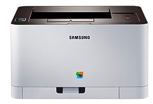 Samsung Xpress  C410W Farblaserdrucker (2400 x 600 dpi, WiFi, USB, NFC) weiß
