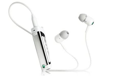 SONY ソニーエリクソン MW600/W Bluetooth ワイヤレスヘッドセット・マイク付き(ホワイト) 輸入版