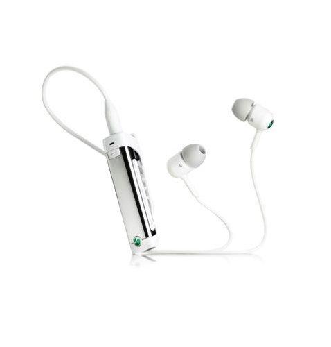 SONY+ソニーエリクソン+MW600%2FW+Bluetooth+ワイヤレスヘッドセット・マイク付き(ホワイト)+輸入版